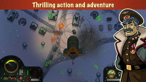 Screenshots of the iBomber: Winter warfare game for iPhone, iPad or iPod.