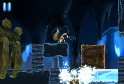 Screenshots vom Spiel Ice Age: Dawn Of The Dinosaurs für iPhone, iPad oder iPod.
