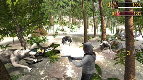 Download Ice age hunter: Evolution iPhone free game.