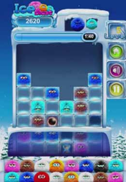 Screenshots do jogo Ice Blast para iPhone, iPad ou iPod.