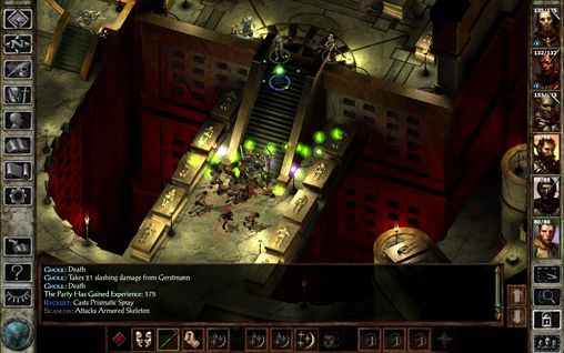 Capturas de pantalla del juego Icewind dale: Enhanced edition para iPhone, iPad o iPod.