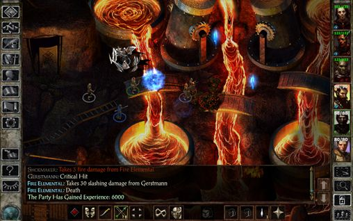 Геймплей Icewind dale: Enhanced edition для Айпад.