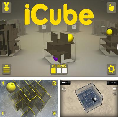 In addition to the game Animal adventure: Downhill rush for iPhone, iPad or iPod, you can also download iCube for free.