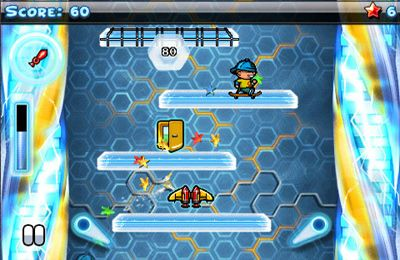 Capturas de pantalla del juego Icy Tower para iPhone, iPad o iPod.