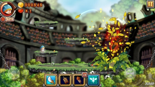 Screenshots do jogo iDaggers para iPhone, iPad ou iPod.