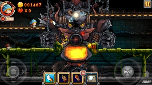 Screenshots of the iDaggers game for iPhone, iPad or iPod.