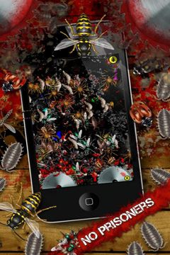 Screenshots of the iDestroy - Call of Bug Battle game for iPhone, iPad or iPod.