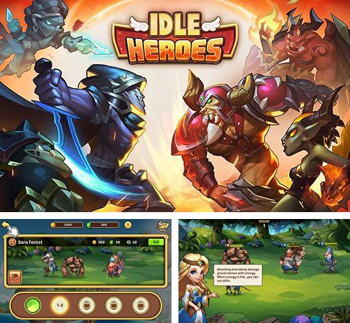 In addition to the game RunBot for iPhone, iPad or iPod, you can also download Idle heroes for free.