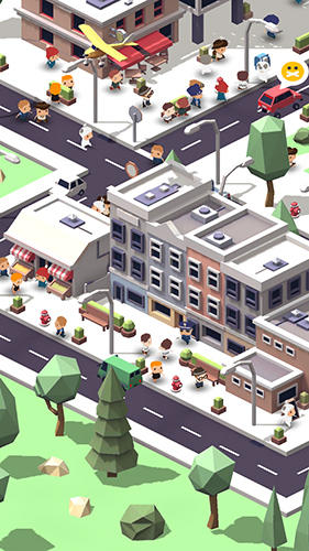 Screenshots vom Spiel Idle island: City building für iPhone, iPad oder iPod.