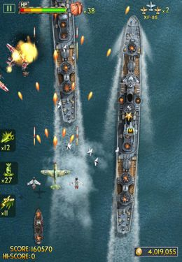 Screenshots vom Spiel iFighter 2: The Pacific 1942 by EpicForce für iPhone, iPad oder iPod.