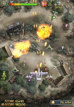 Screenshots do jogo iFighter 2: The Pacific 1942 by EpicForce para iPhone, iPad ou iPod.
