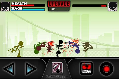 Screenshots of the iKungFu master game for iPhone, iPad or iPod.