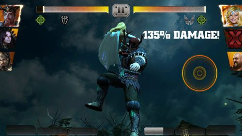 Capturas de pantalla del juego WWE Immortals para iPhone, iPad o iPod.