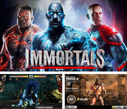 In addition to the game Bit.Trip Run! for iPhone, iPad or iPod, you can also download WWE Immortals for free.