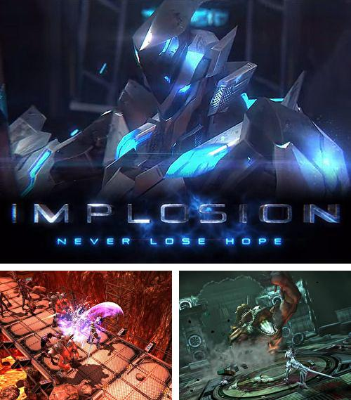 In addition to the game Cloud vs. balloons: Light for iPhone, iPad or iPod, you can also download Implosion: Never lose hope for free.