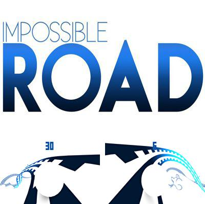 除了 iPhone、iPad 或 iPod 游戏,您还可以免费下载Impossible road, 万能之路。
