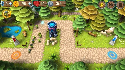 Écrans du jeu Incoming! Goblins attack pour iPhone, iPad ou iPod.