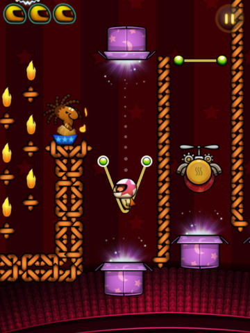 Capturas de pantalla del juego Incredible Circus para iPhone, iPad o iPod.