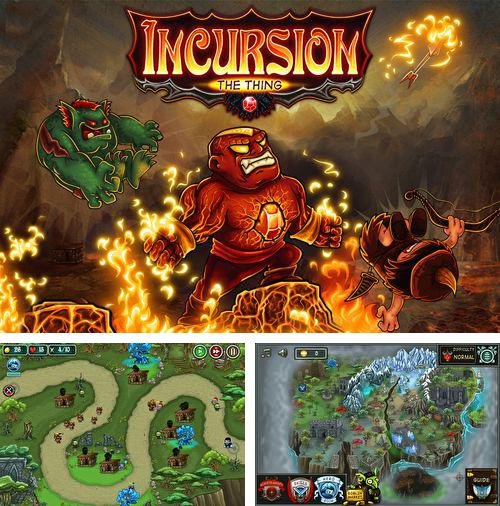 In addition to the game Rolling Coins for iPhone, iPad or iPod, you can also download Incursion the thing for free.