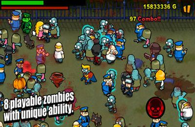 Capturas de pantalla del juego Infect Them All 2 : Zombies para iPhone, iPad o iPod.
