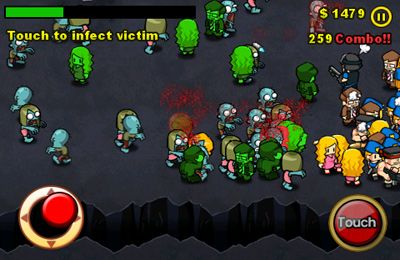 Геймплей Infect Them All 2 : Zombies для Айпад.