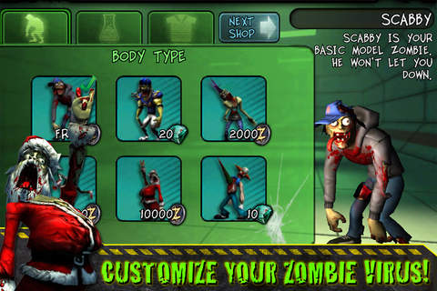 Download Infected iPhone free game.
