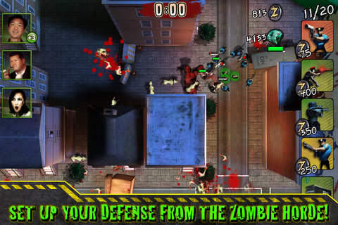 Screenshots of the Infected game for iPhone, iPad or iPod.