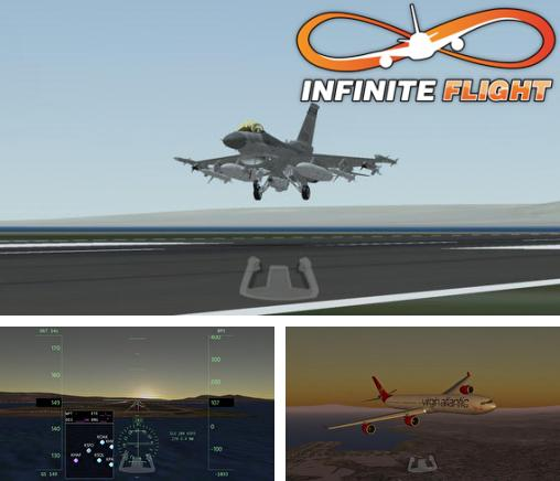 In addition to the game Crazy Chicken: Pirates - Christmas Edition for iPhone, iPad or iPod, you can also download Infinite Flight – Flight Simulator for free.