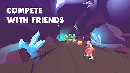 Screenshots of the Infinite skater game for iPhone, iPad or iPod.