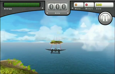 Capturas de pantalla del juego Infinite Sky para iPhone, iPad o iPod.