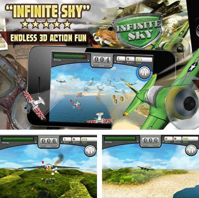 In addition to the game Zig and Sharko for iPhone, iPad or iPod, you can also download Infinite Sky for free.