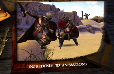 Écrans du jeu Infinite Warrior pour iPhone, iPad ou iPod.