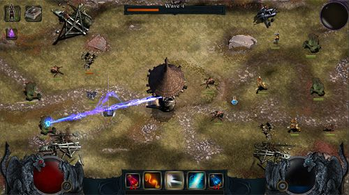 Capturas de pantalla del juego Infinite warrior: Battlemage para iPhone, iPad o iPod.