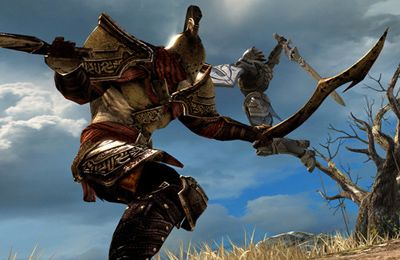 Capturas de pantalla del juego Infinity Blade para iPhone, iPad o iPod.
