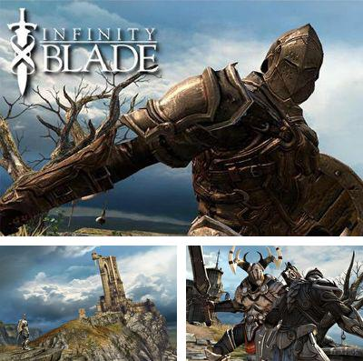 In addition to the game Lost Jump Deluxe for iPhone, iPad or iPod, you can also download Infinity Blade for free.