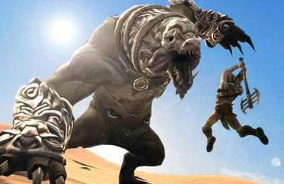 Screenshots do jogo Infinity Blade 2 para iPhone, iPad ou iPod.