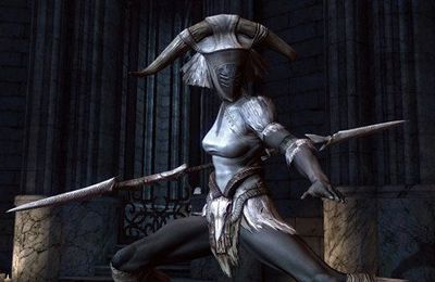 Capturas de pantalla del juego Infinity Blade 2 para iPhone, iPad o iPod.