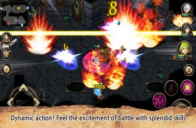 Screenshots of the Inotia 4 PLUS game for iPhone, iPad or iPod.