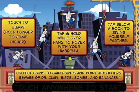 Download Inspector Gadget's mad dash iPhone free game.