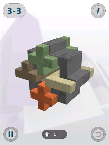 Capturas de pantalla del juego Interlocked para iPhone, iPad o iPod.