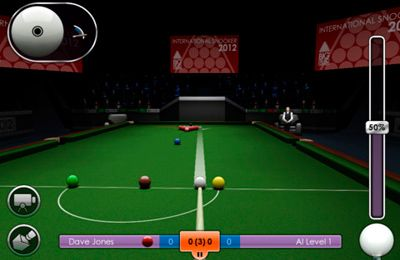 Descarga gratuita de International Snooker 2012 para iPhone, iPad y iPod.