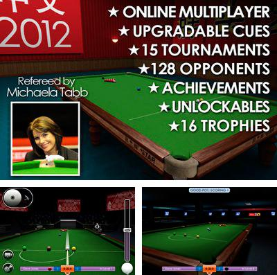 In addition to the game Dinosaur Assassin Pro for iPhone, iPad or iPod, you can also download International Snooker 2012 for free.