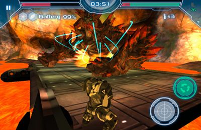 Screenshots vom Spiel Invader Hunter für iPhone, iPad oder iPod.