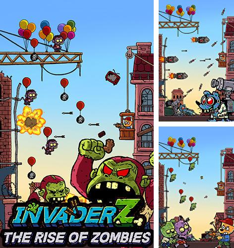 Download Invader Z: The rise of zombies iPhone free game.
