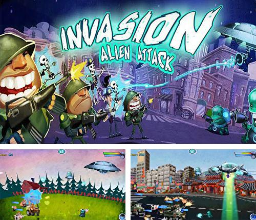 除了 iPhone、iPad 或 iPod 游戏,您还可以免费下载Invasion: Alien attack, 。