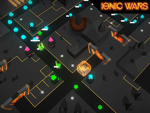 Screenshots of the Ionic wars game for iPhone, iPad or iPod.
