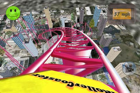 Free iRoller coaster 2 download for iPhone, iPad and iPod.
