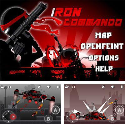 In addition to the game Dark guardians for iPhone, iPad or iPod, you can also download Iron Commando Pro for free.