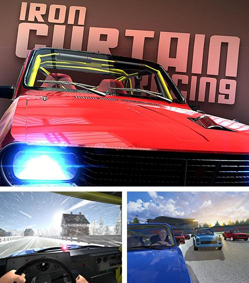 En plus du jeu Chevalier tournant pour iPhone, iPad ou iPod, vous pouvez aussi télécharger gratuitement Courses derrière le rideau de fer: Courses d'autos, Iron curtain racing: Car racing game.