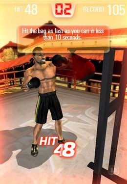 Screenshots of the Iron Fist Boxing game for iPhone, iPad or iPod.